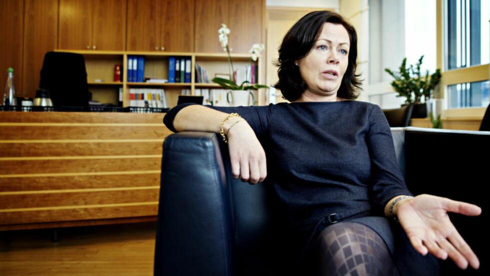 VIL KUTTE: Barneminister Solveig Horne (Frp) foreslår å stramme inn retten til barnetrygd under utenlandsopphold på over tre måneder. I dag gjelder perioden for seks måneder. Foto: Nina Hansen / Dagbladet