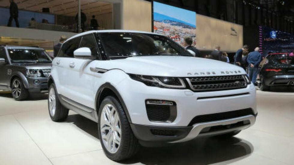 ORIGINALEN: Slik ser Range Rover Evoque ut. Foto: FRED MAGNE SKILLEBÆK