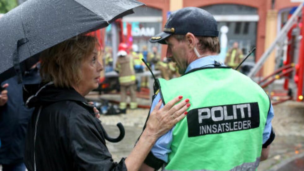 VAR BEKYMRET: Sykemeldt ordfører i Bergen, Trude Drevland. Foto: Emil Breistein/NTB Scanpix