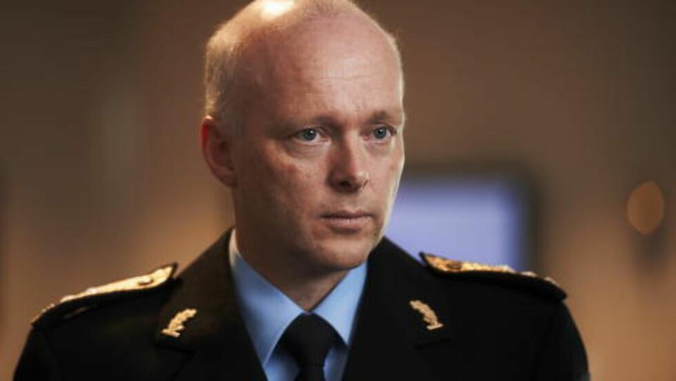 SKUDD FRA HYLSTERET:  Politimester Hans Vik, Rogaland politidistrikt. Foto: Kent Skibstad, NTB Scanpix.