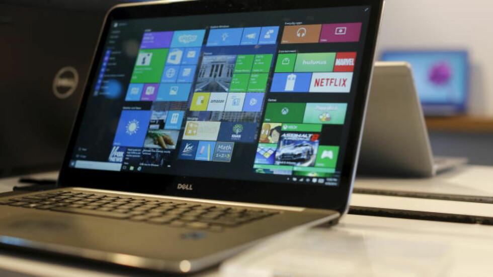 NYTT SYSTEM: Microsoft 10 er ment til å skape en bedre plattform for alle Microsoft-produktene. Foto: NTB Scanpix