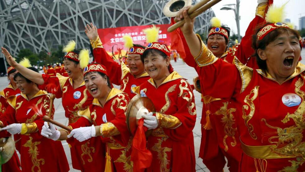 ARRANGØR IGJEN: Beijing avholdt sommer-OL i 2008. Nå har de blitt tildelt vinter-OL for 2022. Foto:REUTERS / Damir Sagolj / NTB Scanpix