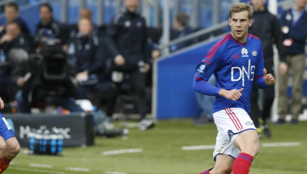 TIL ELFSBORG: Niklas Gunnarsson (24) drar fra Vålerenga til Elfsborg på lån ut sesongen. Foto: Terje Pedersen / NTB scanpix