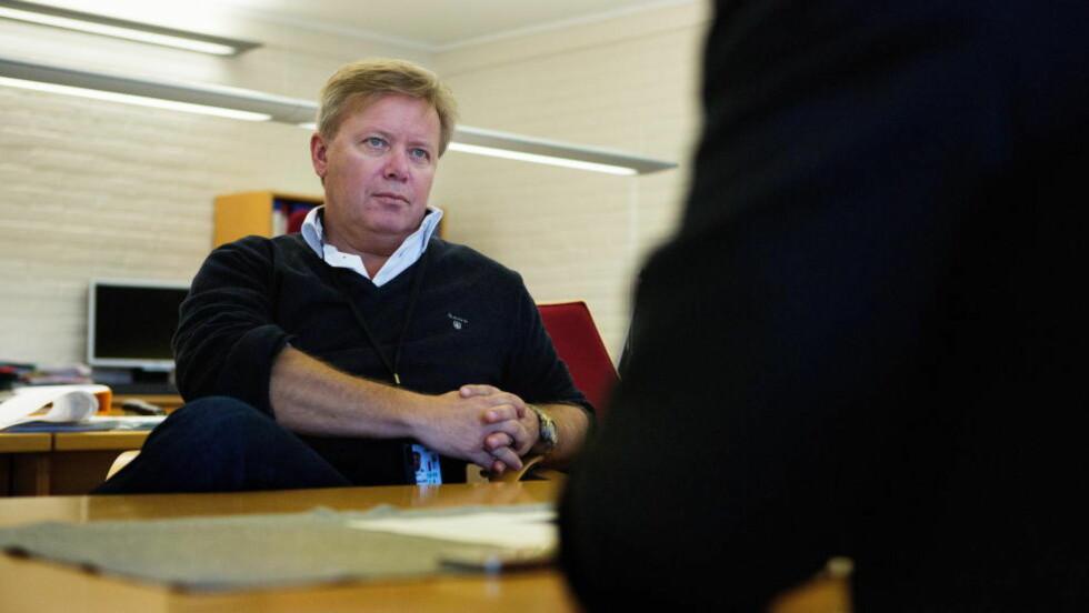 OMKOM:  Lufthavnsjef Thomas Langeland døde under triatlonløpet TriQuart i går.  Foto: Jo Straube / Dagbladet