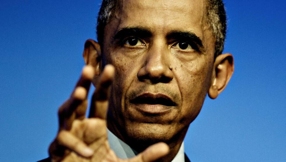 NY PLAN: USA 's president Barack Obama vil mandag legge fram den reviderte utgaven av USAs Clean Power Plan. Foto: Lars Eivind Bones / Dagbladet