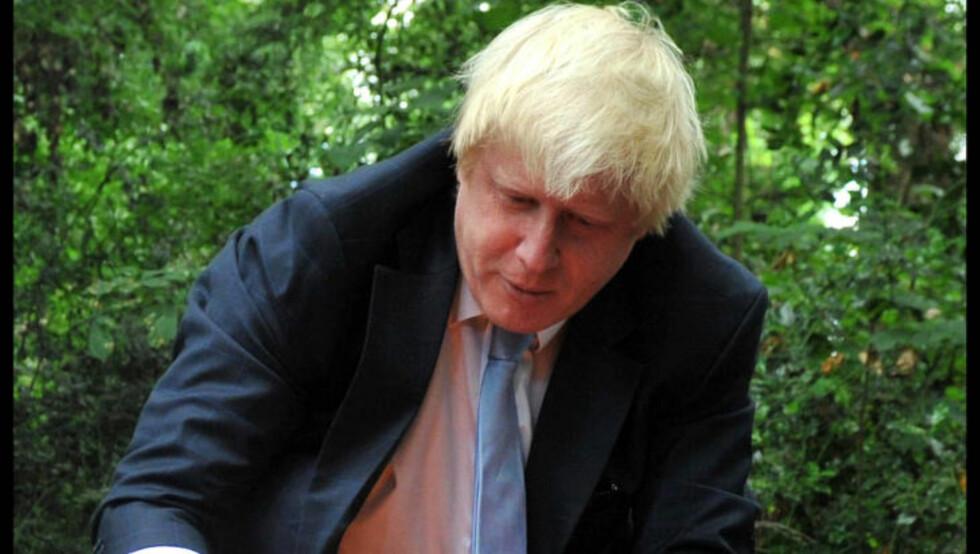 «KLOVNEN BORIS»: Londons borgermester Boris Johnson nevnes i lite flatterende vendinger i eposter til Hillary Clinton. Foto: Ben Stevens / i-Images.