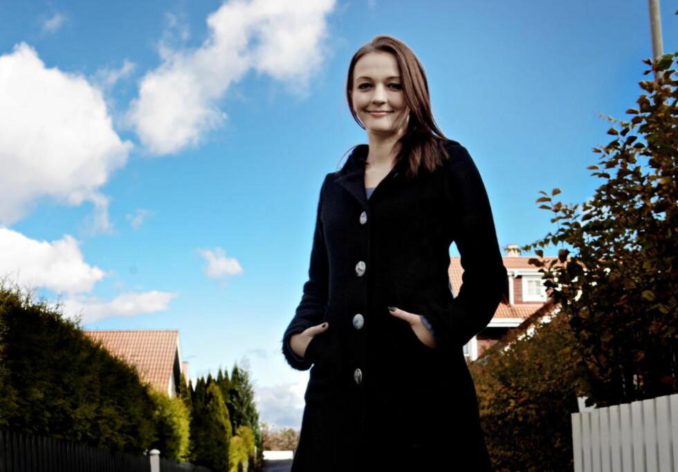 MOT MOBBING: Lise Myhres Nemi-tekst er et rasende utfall mot lærere og mobbende medelever, og en kraftfull oppmuntring til alle som mobbes på skolen. Du ser den i bunnen av saken. Foto: Lars Eivind Bones / Dagbladet
