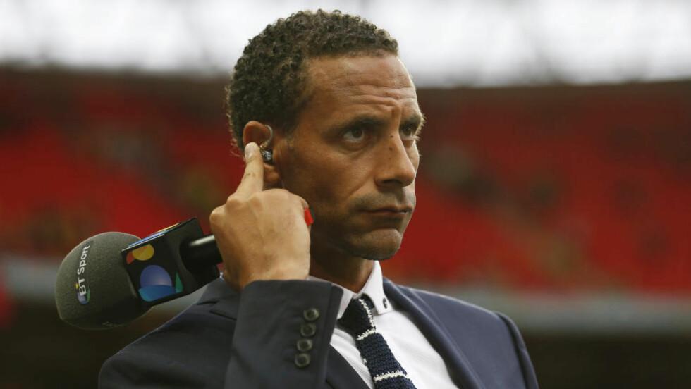 VELG UNITED:  Rio Ferdinand mener John Stones bør velge Manchester United som neste stoppested. Foto: Reuters / Carl Recine/NTB Scanpix.