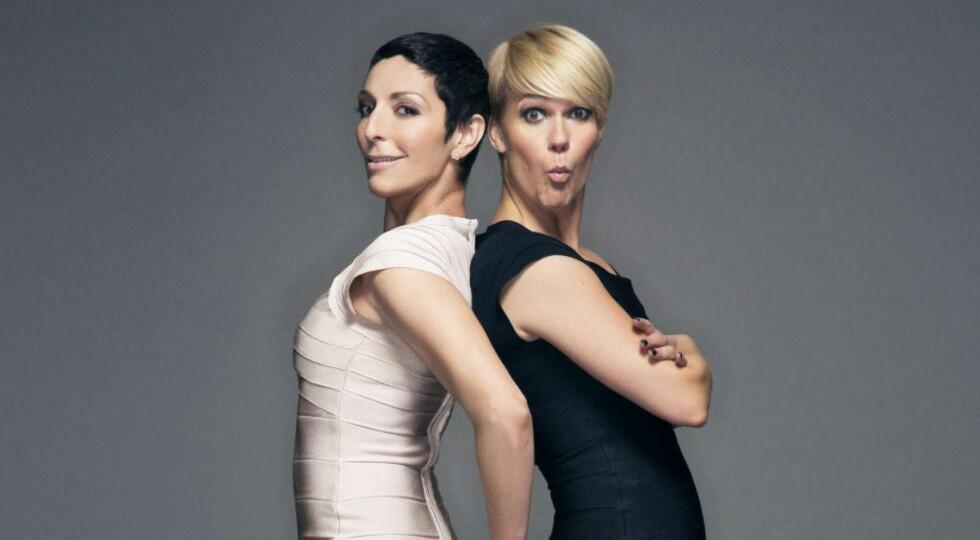 NYTT PROGRAM: Komikerne Lisa Tønne (37) og Sigrid Bonde Tusvik (35) får eget program på TV 2 til høsten. Foto: Bjørn Wad / TV 2