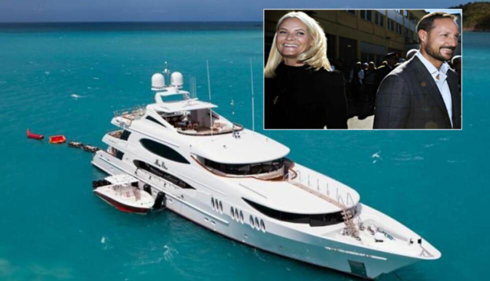 MILLIONBÅT: Det koster 250 000 dollar i uka, omlag 2 millioner kroner, å leie luksusyachten «Mia Elise». Foto: CharterWorld / Nina Hansen / Dagbladet