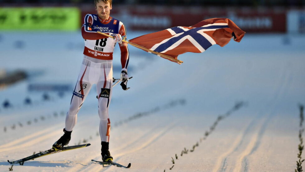IKKE AKKURAT BAKKELØP  Petter kan være langt bak under sommertreningen i de bratteste kneikene, men når vinteren kommer er han alene i front på oppløpet. FOTO: Hans Arne Vedlog  /  Dagbladet.
