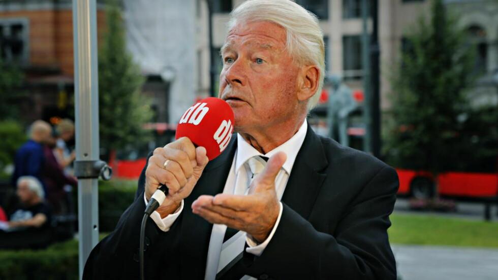 OVERRASKET: Carl I. Hagen er overrasket over meningsmålingen til Ipsos MMI, utført for Dagbladet denne uka.  Foto: Jacques Hvistendahl / Dagbladet