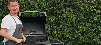 Slik får du en skinnende, ren grill, uten vann og såpe