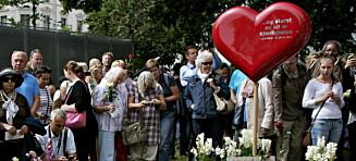Kirka vil fjerne 22. juli-hjertet i Oslo. Politikerne er maktesløse