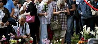 Kirka målte feil: Kan ikke fjerne 22. juli-hjertet likevel