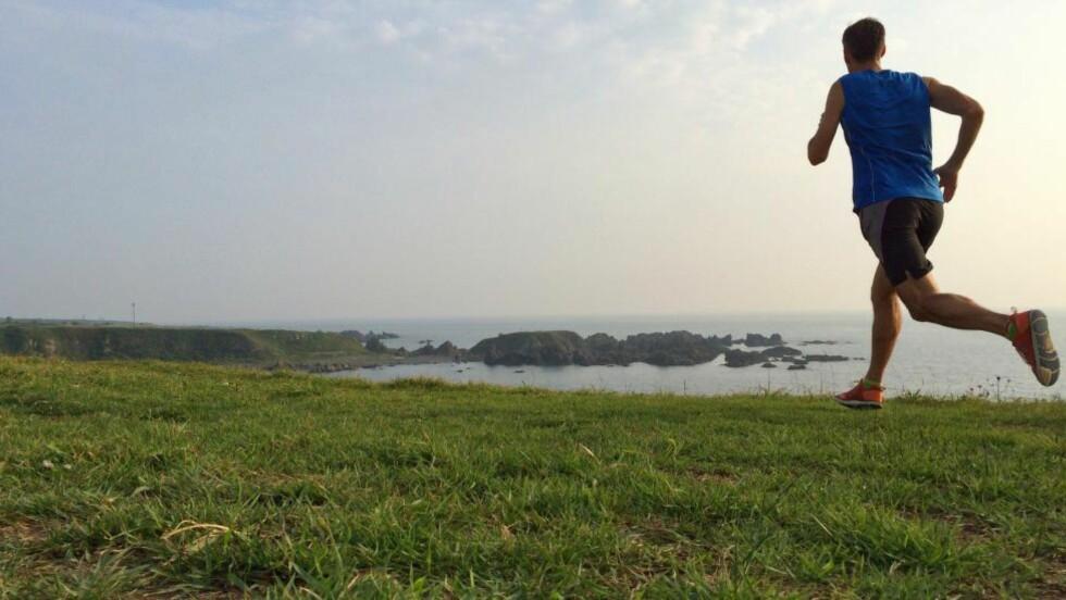 ØKT FARTEN: Progressiv løping kan du starte med for eksempel på slutten av en rolig langtur. Foto: NTB Scanpix / Microstock / Ardijatree