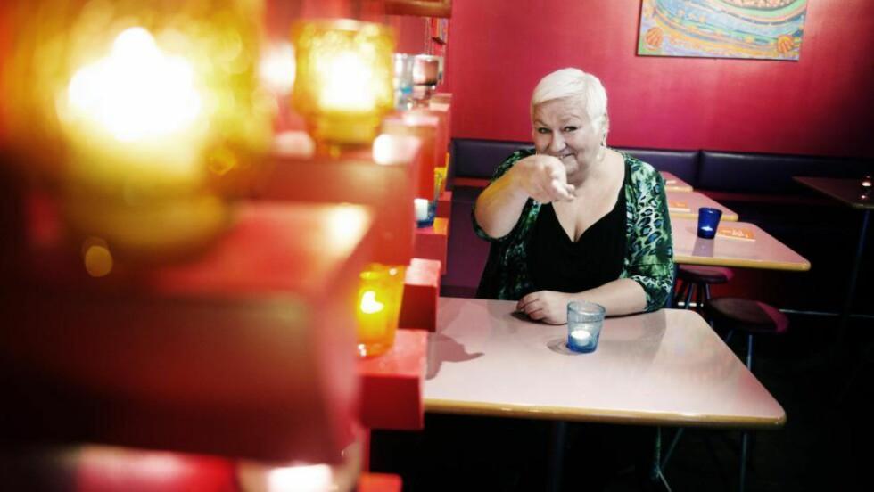 VALGT DET SELV: - Jeg har aldri ønsket meg et tradisjonelt samboerskap. Det krever mer å velge annerledes enn majoriteten, sier Lene Wikander Foto:Thomas Rasmus Skaug / Dagbladet