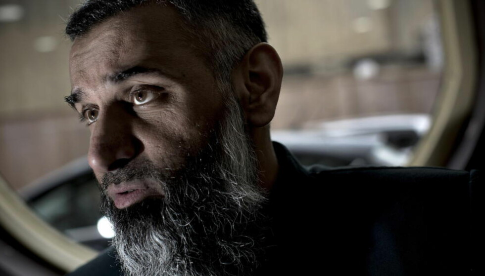 DØMT: Anjem Choudary. Foto: Tomm W. Christiansen / Dagbladet