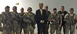 Nederlandsk politiker talte før skuddramaet i Texas: - Sjokkert over skytingen