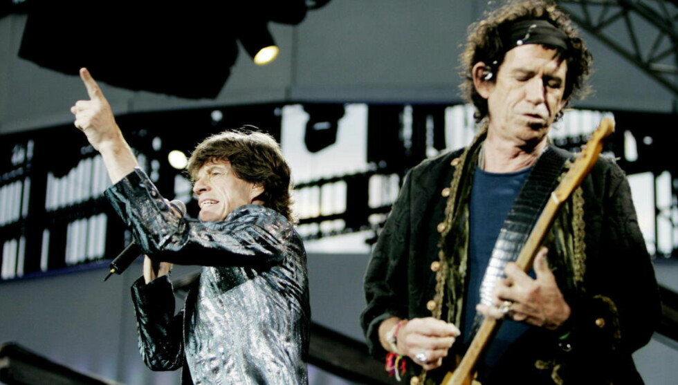 NY FORSKNING: The Rolling Stones Mick Jagger og Keith Richards på Valle Hovin i nyere tid. Men var verken Stones eller Beatles nyskpende? Nei, mener enkelte forskere. Foto: Torbjørn Grønning