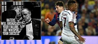 Ble latterliggjort av Messi. Slik slo Boateng tilbake mot hetsen