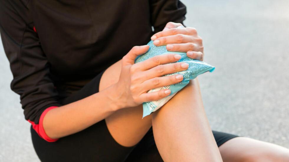 IS: Ro ned skaden og legg gjerne is på når du har pådratt deg en belastningsskade. Foto: NTB Scanpix / Microstock