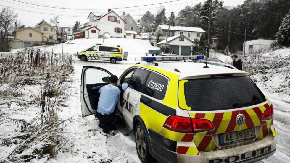 5. DESEMBER I FJOR: Den da 23 år gamle mannen ble pågrepet i Østfold 5. desember i fjor. Nå er han tiltalt for terrorplanlegging. Foto: Jaques Hvistendahl / Dagbladet
