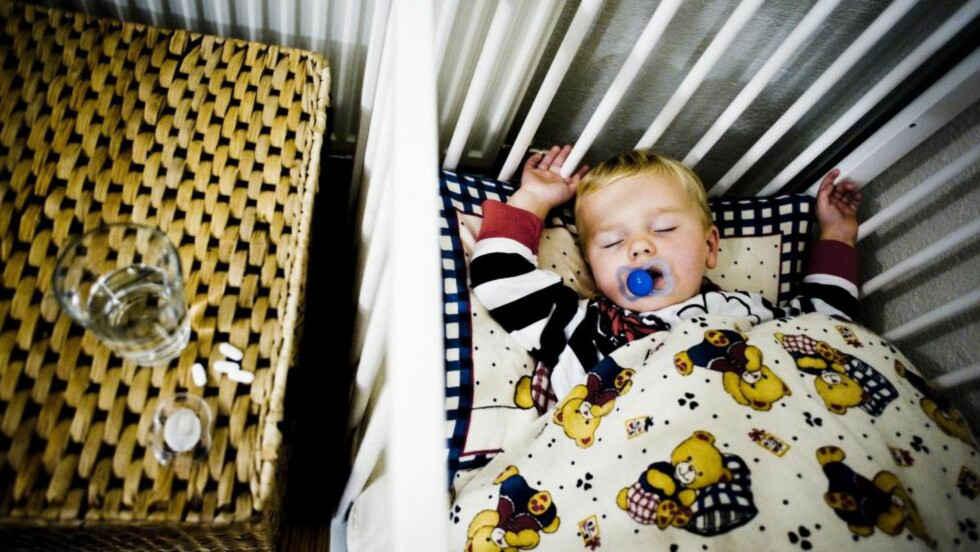SOVEMEDISIN: Over 10 000 barn og unge i Norge fikk respet på sovemedisinen melatonin i 2014. Foto: Thomas Rasmus Skaug