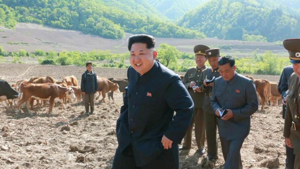 ANKLAGES: Nord-Koreas forsvarsminister, Hyon Yong-chol skal være henrettet etter å ha vist illojalitet mot diktator Kim Jong-un (bildet): Foto:EPA/Rodong Sinmun SOUTH KOREA OUT
