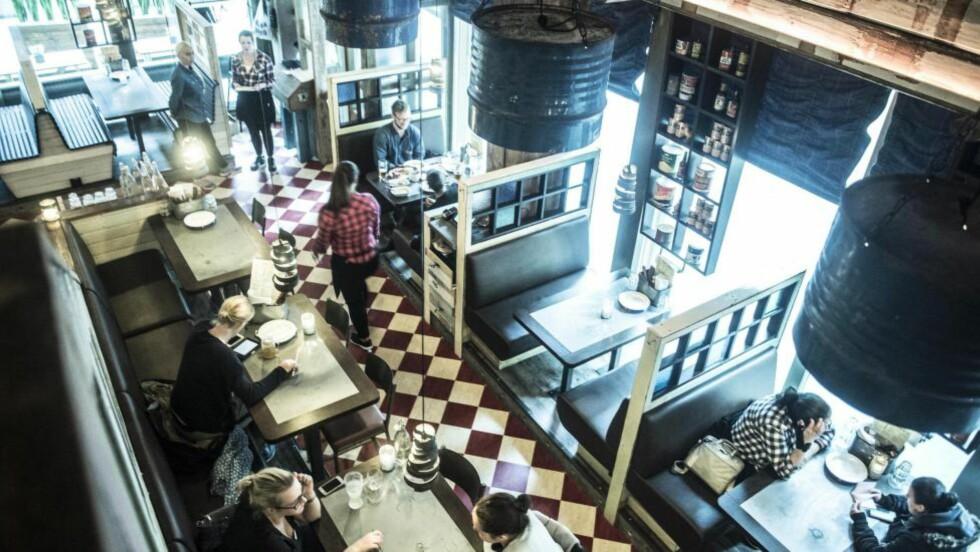 FETT OG GODT: På restaurant Lucky Bird teller man ikke kalorier. Hurra for det! Foto: THOMAS RASMUS SKAUG