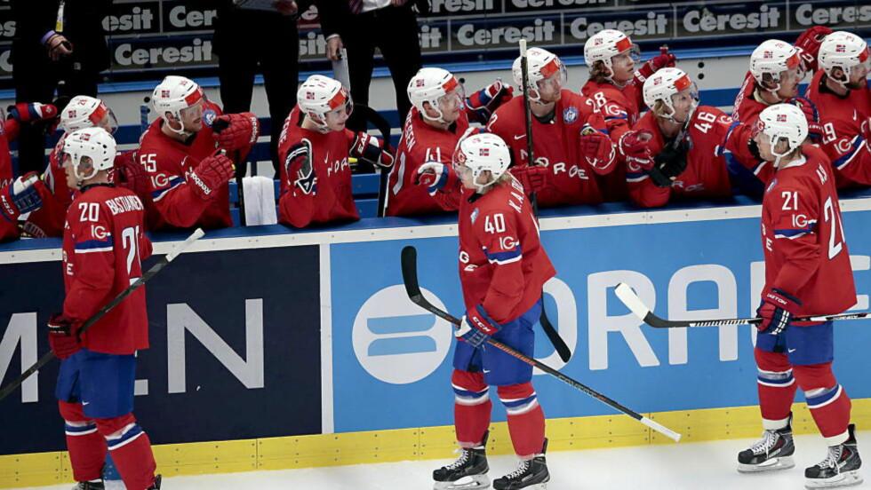 FAVORITTER:  Norge er bedre enn de tre lagene de skal møte i kampen om å spille OL 2018. Foto: Bjørn Langsem / Dagbladet