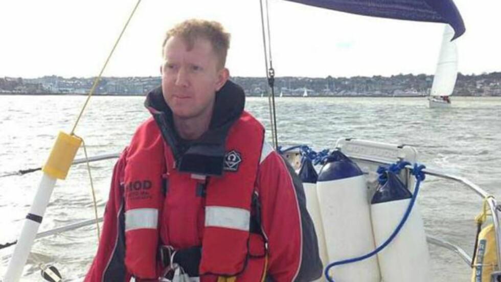 VARSLER: Ifølge William McNeilly selv har han samlet inn sensitiv informasjon om sikkerheten om bord på HMS «Victorious» i over et år. Foto: Privat