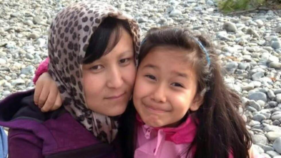 SENDT TIL AFGHANISTAN: Ni år gamle Farida og familien ble hentet av politiet 12. februar, og ble med det ett av asylbarna som Norge returnerte til Afghanistan. Farida har aldri bodd i Afghanistan.