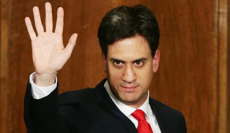 PROBLEMER?: Etter at Ed Miliband trakk seg som leder noen timer etter at valgresultatet var klart, har fire kandidater nå kastet seg inn i racet om å bli ny partileder. Foto: NTB Scanpix