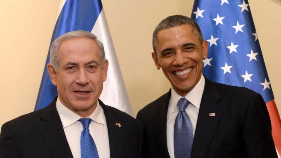 LØFTE: USAs president holdt et løfte USA ga Israel i 2010. Foto: NTB Scanpix