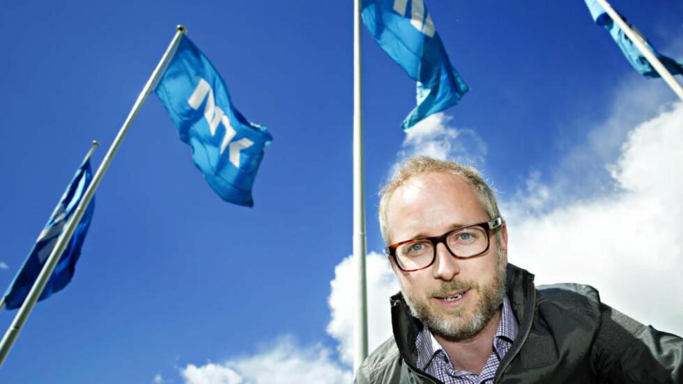 <strong>HAR EN PLAN FOR NRK:</strong> SV-politiker Bård Vegard Solhjell lanserer i dag sin fempunkts handlingsplan for NRK. Han vil blant annet ta fra NRK sponsorpenger og gjøre NRK.no mindre tabloid. Foto: Nina Hansen / Dagbladet