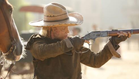 <strong>SIKTER HØYT:</strong> Ingrid Bolsø Berdal gjør det skarpt som har landet en rolle i HBO-storsatsningen «Westworld». Foto: HBO