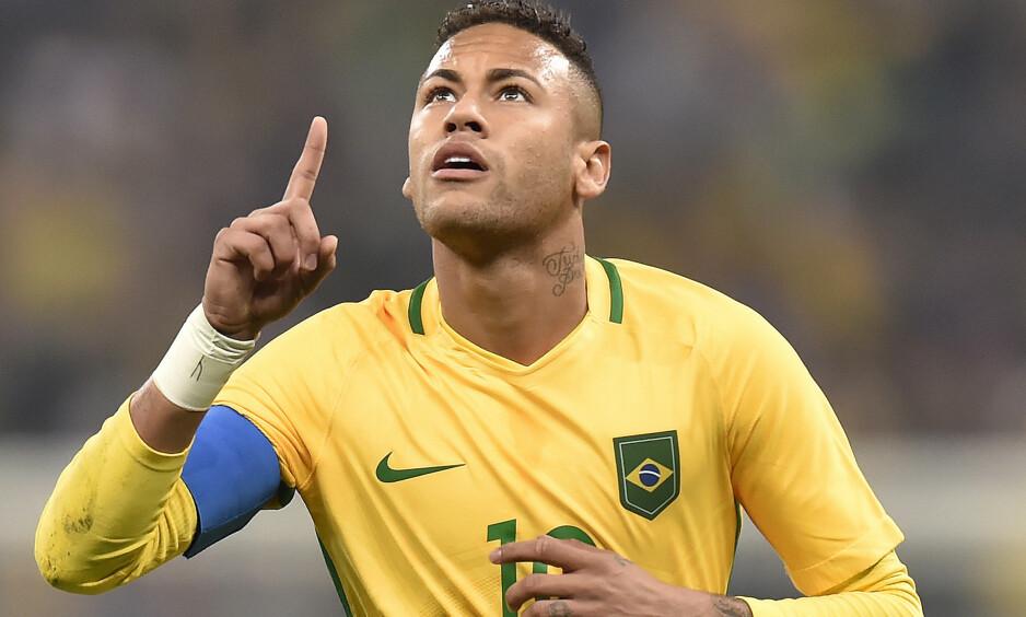 FOR LANDSLAGET: Neymar. Foto: Mauro Horita/REX/Shutterstock