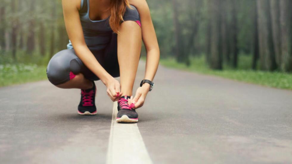 KOM I GANG: For å løpe en mil på under den magiske timen, trenger du mellom to og tre økter per uke. Foto: NTB Scanpix