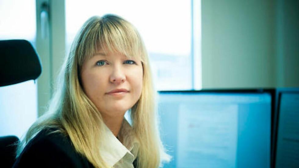 KREVER STOPP: Lotteritilsynet og seniorrådgiver Monica Alisøy Kjelsnes. Foto: Lotteritilsynet