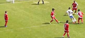 11-åring sammenlignes med Messi og Maradona etter superscoring
