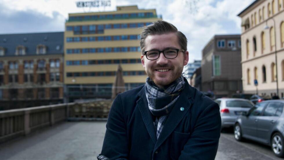 VARSLER-VERN:  Venstre og Sveinung Rotevatn vil at det opprettes en egen dedikert varslerenhet i Arbeidstilsynet.  Foto: Eirik Kopperud Edh