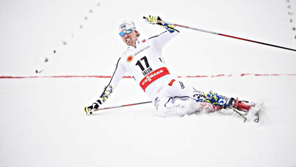 FÅR EKSTRA PREMIE: Mentaltreneren til Johan Olsson holder løftet han ga før VM. Foto: Hans Arne Vedlog  / Dagbladet