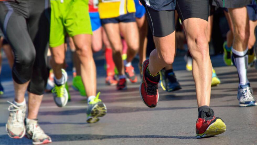 KOM DEG GJENNOM EN HALVMARTON: Hvis du skal klare en halvmaraton på under to timer, så må du trene to langturer på over timen per uke. Foto: NTB Scanpix
