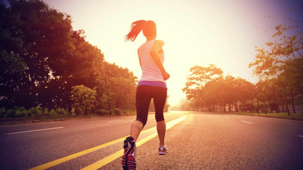 DU VIL HEVDE DEG: For å klare målet om en halvmaraton under magiske 1,30, må du opp i fem økter per uke. Foto: NTB Scanpix
