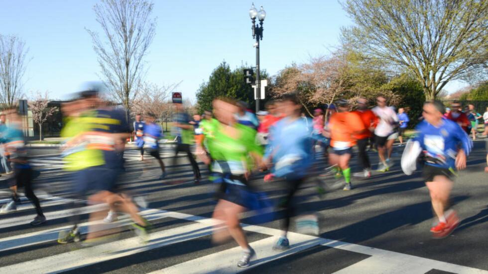 FULLFØR MED STIL: Maratondistansen er kongen av alle løp, men det må betydelig med trening til for å venne seg til en slik distanse. Foto: NTB Scanpix