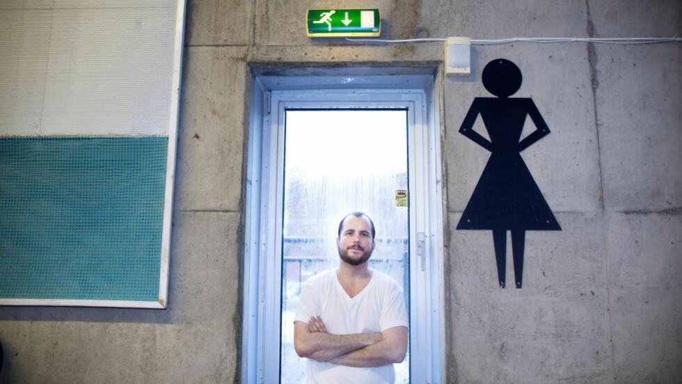 USIKKER: Da Arnt Gunnar Johansen (28) søkte på lærerstudiene, ble han forespeilet en trygg pensjonisttilværelse. Det er det ikke sikkert at den blir, mener han. Foto: Tomm W. Christiansen