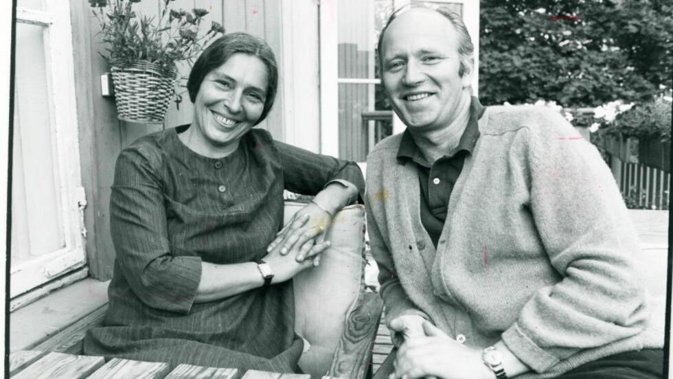 BLE OVERVÅKET: Karin og Thorvald Stoltenberg ble flere ganger invitert til en bolig ved Fornebu hvor KGB-offiseren Vasilij Toropov bodde. Der var det installert utstyr for telefon- og romavlytting.Foto: Geir Bølstad