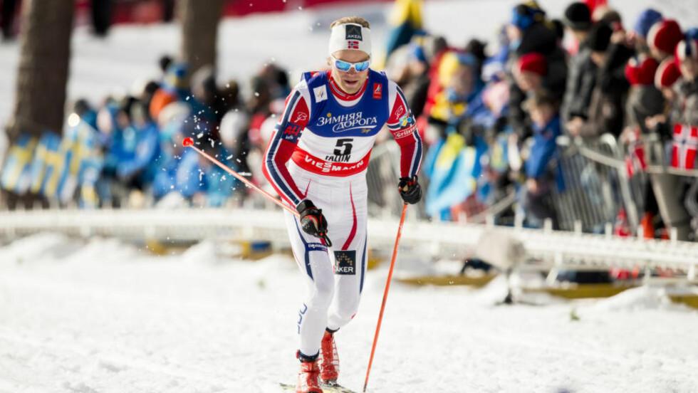 RUTINERT: Eirik Brandsdal viste at han har rutine, og vant sprintfinalen i Lahti. Foto: Vegard Wivestad Grøtt / NTB scanpix