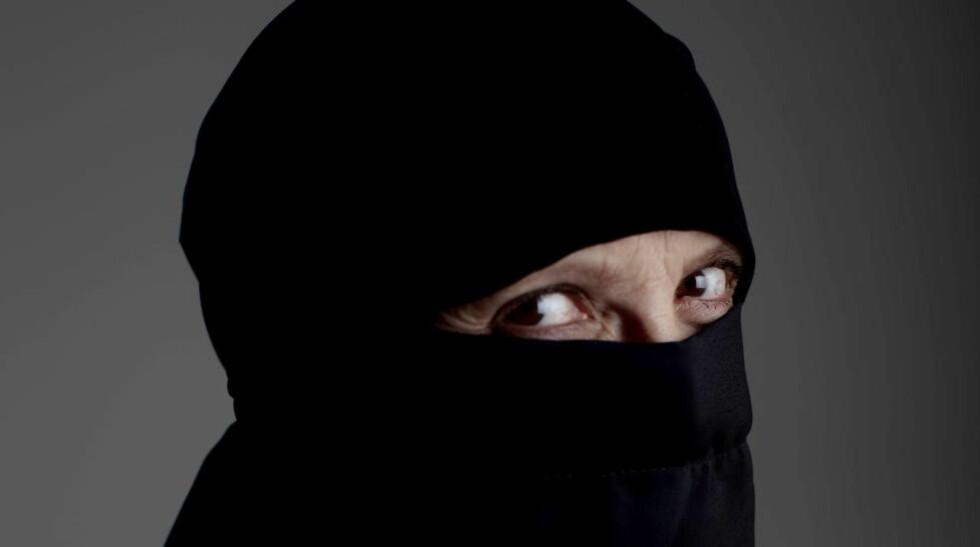 FORBUD: Moss kommune innfører forbud mot heldekkende ansiktsplagg for ansatte mens de er på jobb og møter brukere. Illustrasjonsfoto: Stian Lysberg Solum / NTB scanpix